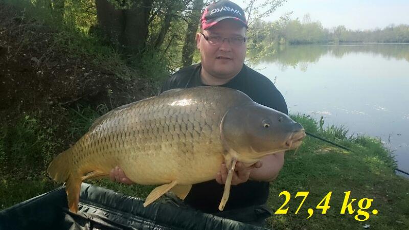 Marius 27,4 kg.