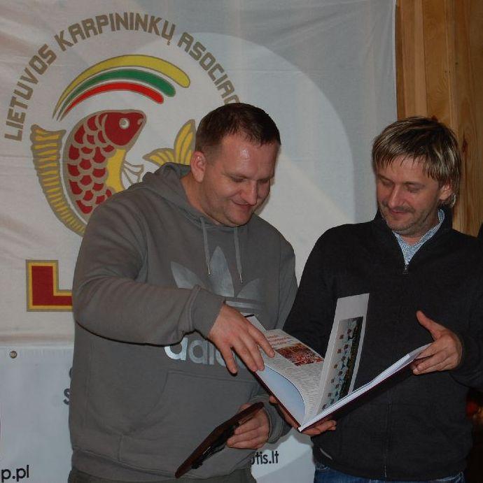 Andrzej Bachera ir Aleksander Grzelewski