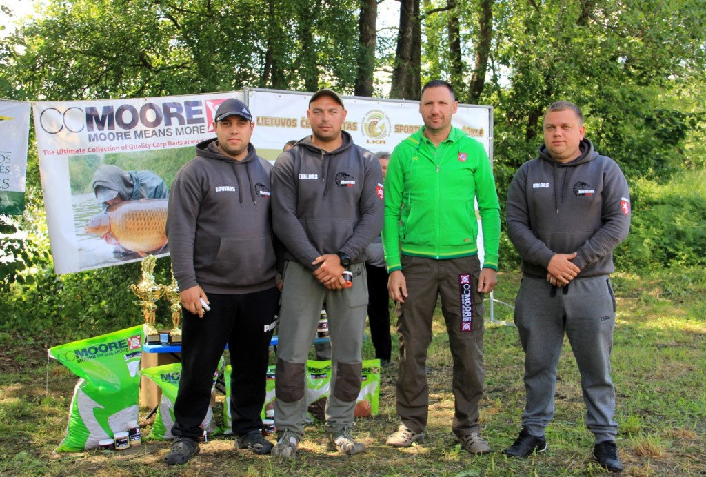 VI vieta, Monster Carp Team- tamsi apranga.