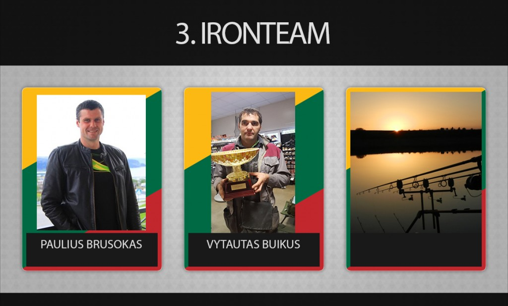 3 komanda ironteam