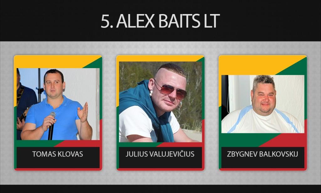 5 komanda alex baits lt