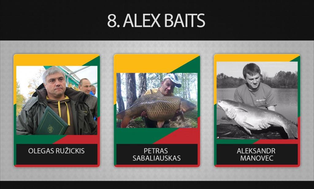 8 komanda alex baits