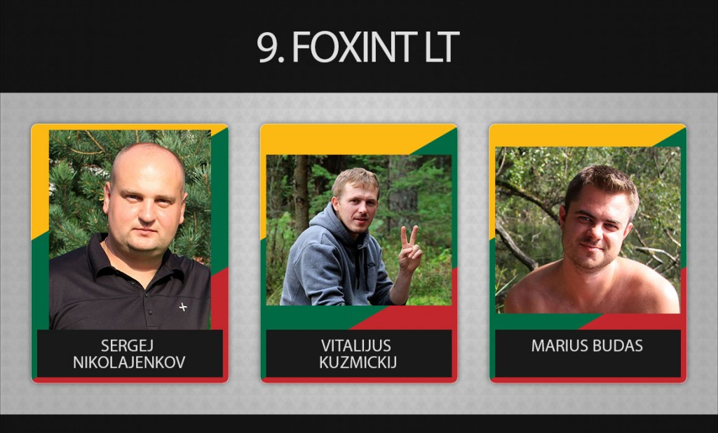 9 komanda foxint lt