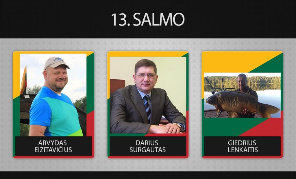 13 komanda salmo