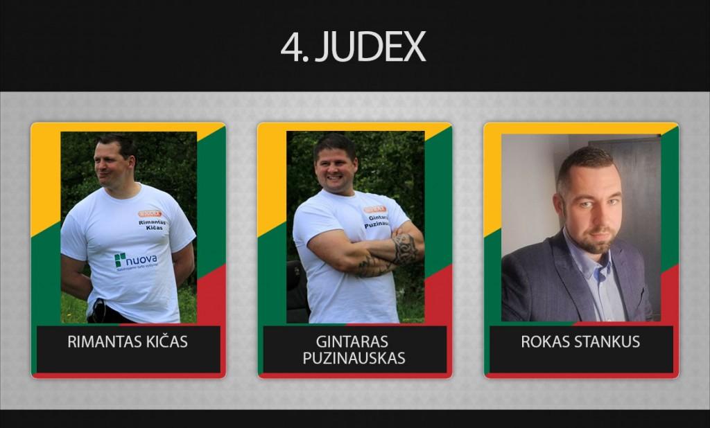 4 komanda judex