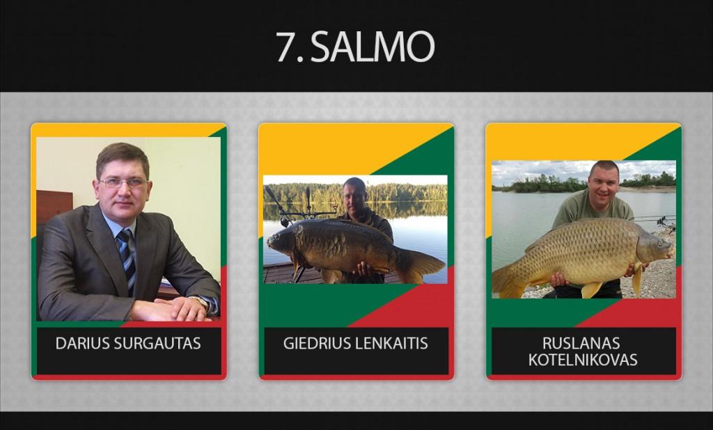 7 komanda salmo
