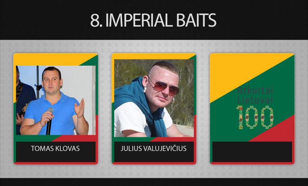 8 komanda Imperial Baits