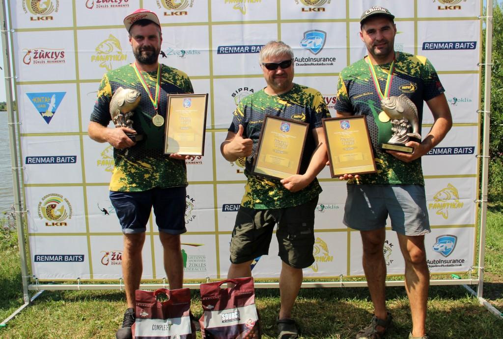 Paulius, Olegas ir Vytas