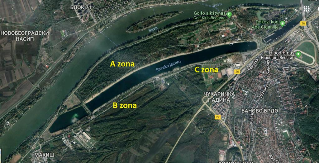 Vaizdas iš palydovo.