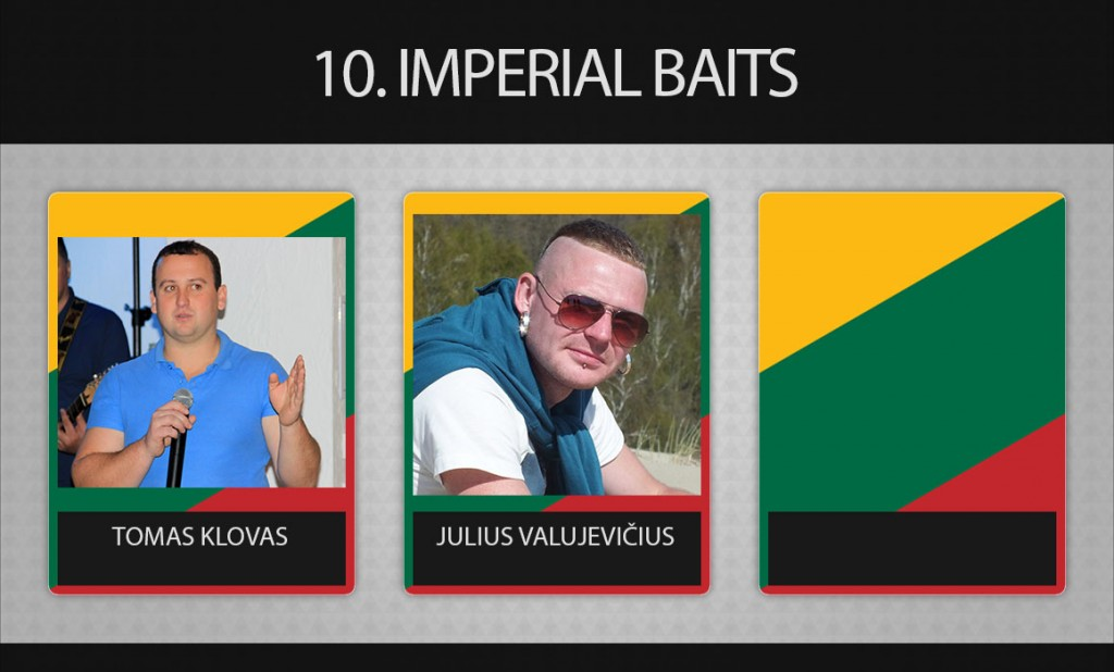 10 komanda Imperial Baits