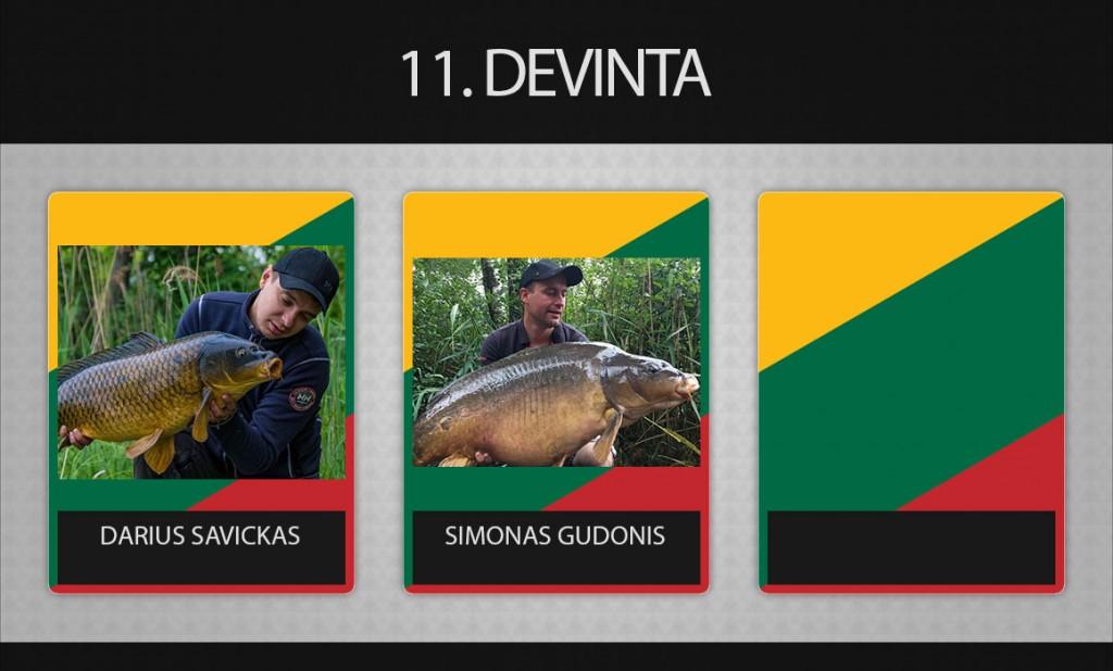11 komanda Devinta