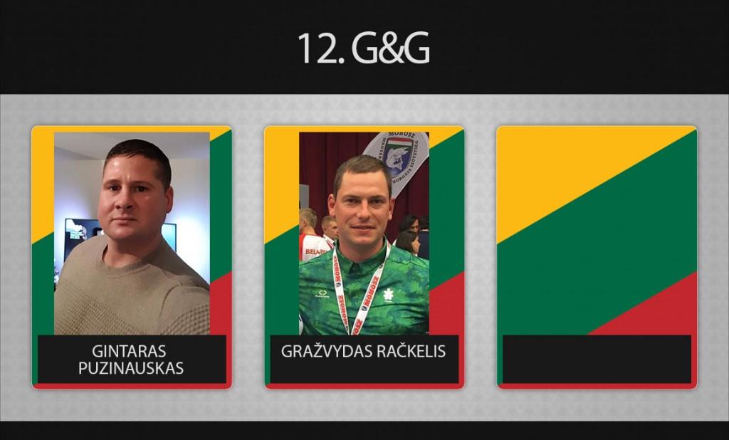 12 komanda G&G
