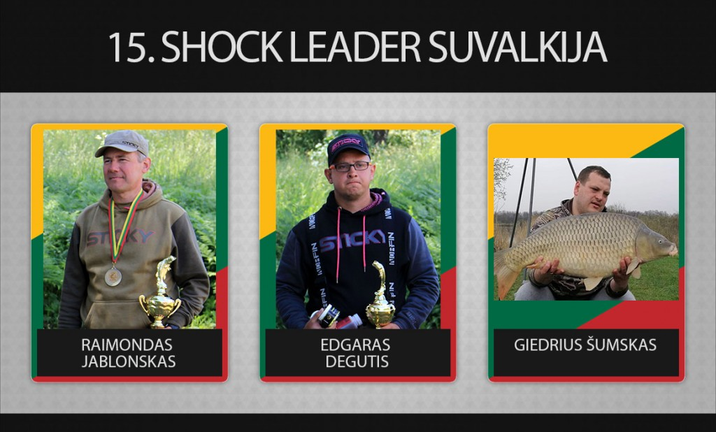 15 komanda Shock Leader Suvalkija
