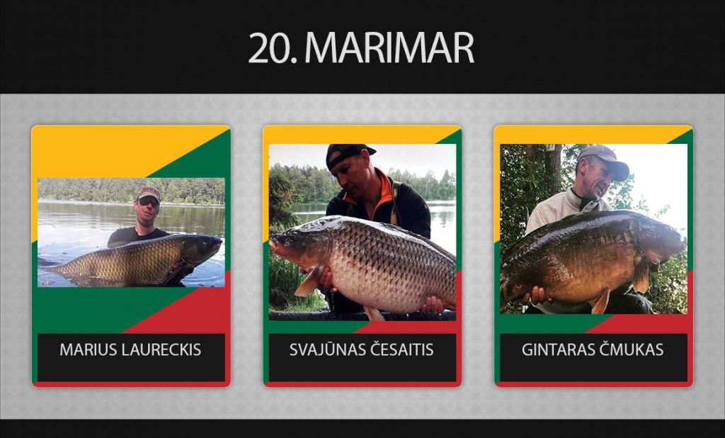 20 komanda Marimar