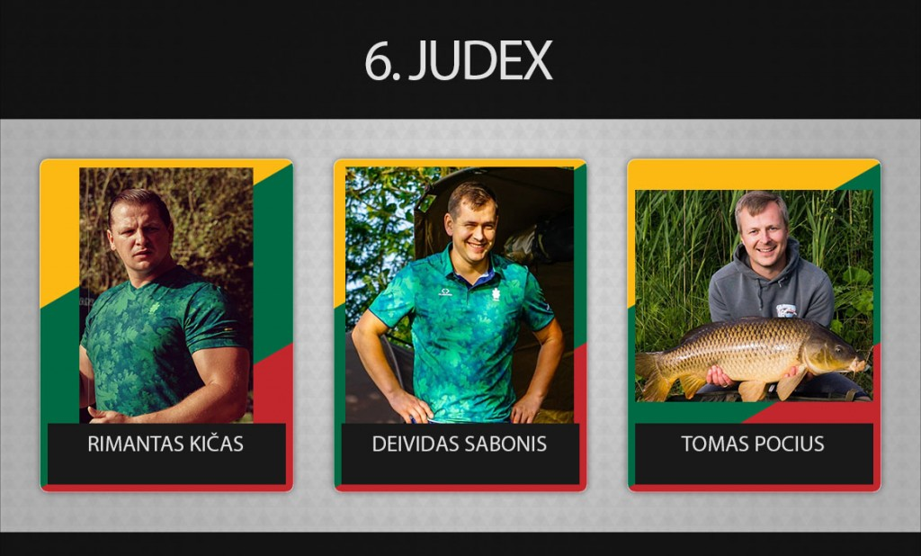 6 komanda judex