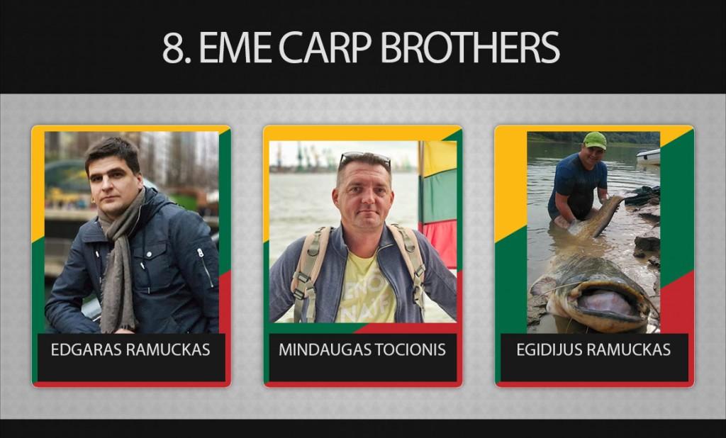 8 EME Carp Brothers
