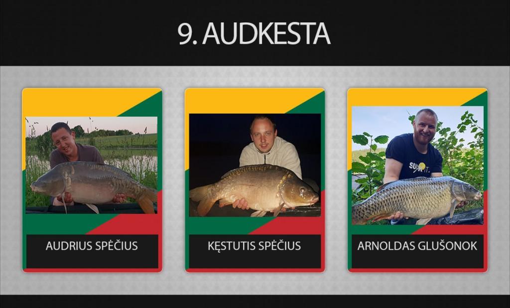 9 komanda Audkesta