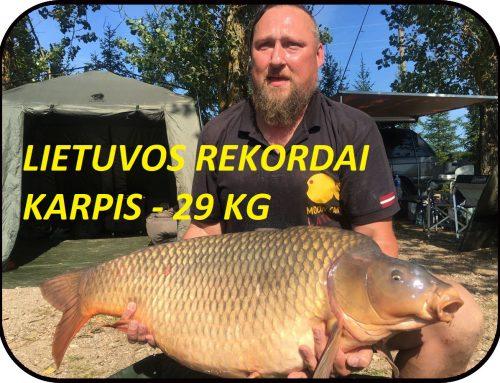 Neoficialus Lietuvos didžiausio karpio rekordas