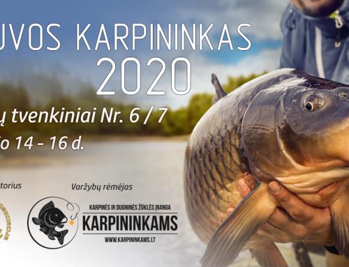 """Registracija į varžybas """"Lietuvos Karpininkas 2020"""""""