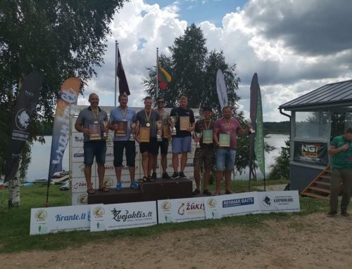 """Lietuvos Sportinės Karpių Žūklės čempionato 3-etapo """"Žūklys.lt"""" apžvalga"""
