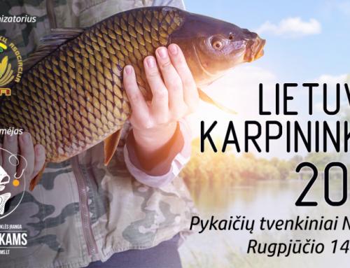 2020 metų Lietuvos Karpininkas Varžybų taisyklės